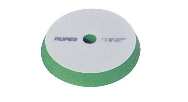 "9.BF150J | RUPES Green Medium Foam Pad - 5"" Dia"