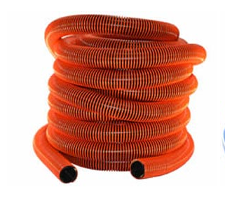 "Vacuum Hose | 15' x 1.5"" I.D. Hoses ( Hose Ends Included)"