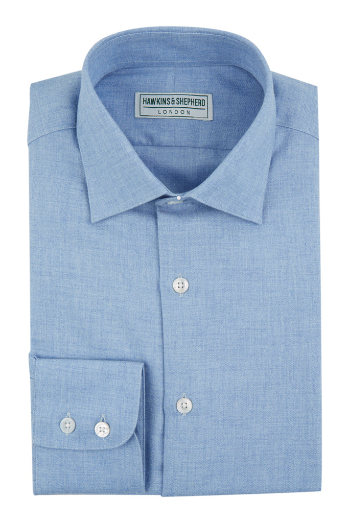 Blue Cashmerello Luxury Shirt