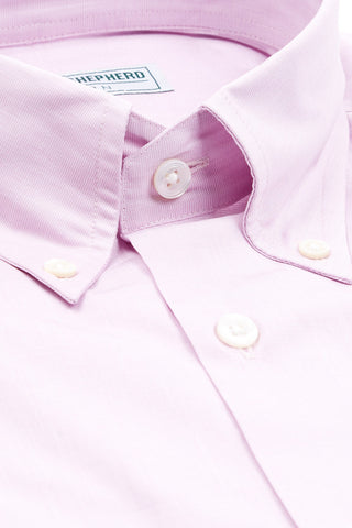 Soft Luxury Lilac Pastel Button-Down Shirt