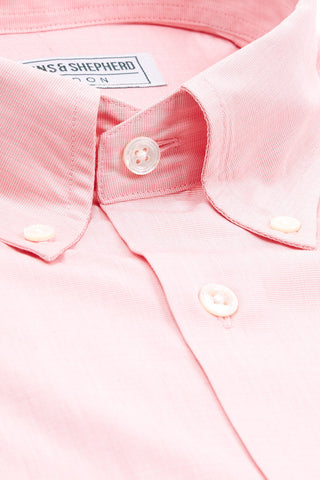 Soft Luxury Pink Pastel Button-Down Shirt