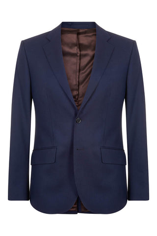 Hawkins & Shepherd Navy Herringbone Suit