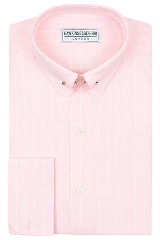 Oxford Shirt With Pin Bar