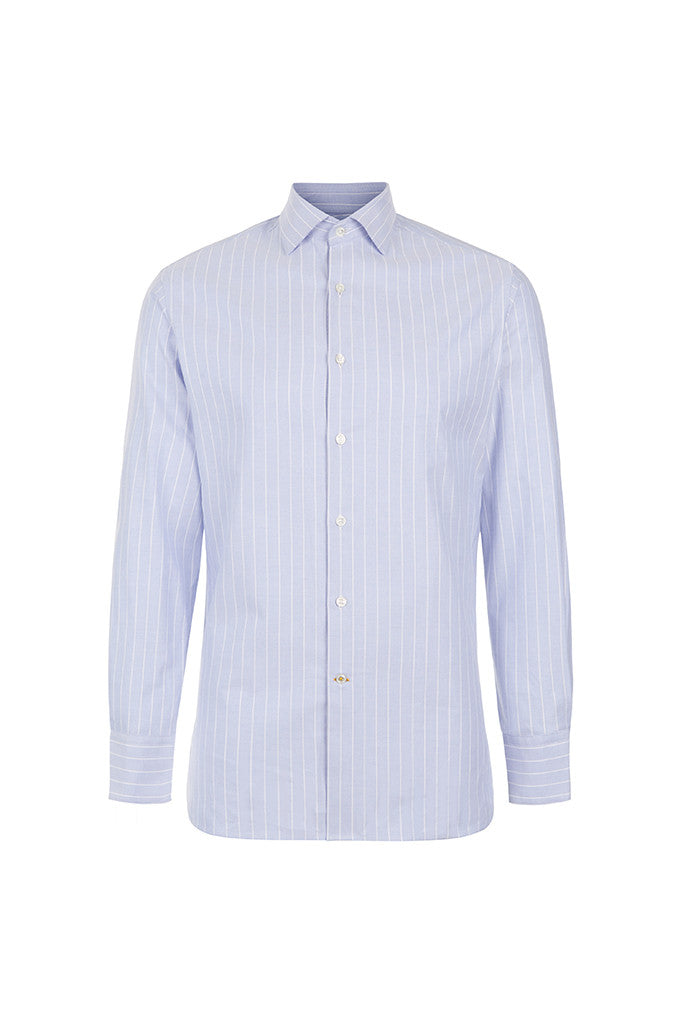 Men's Blue Oxford Shirt