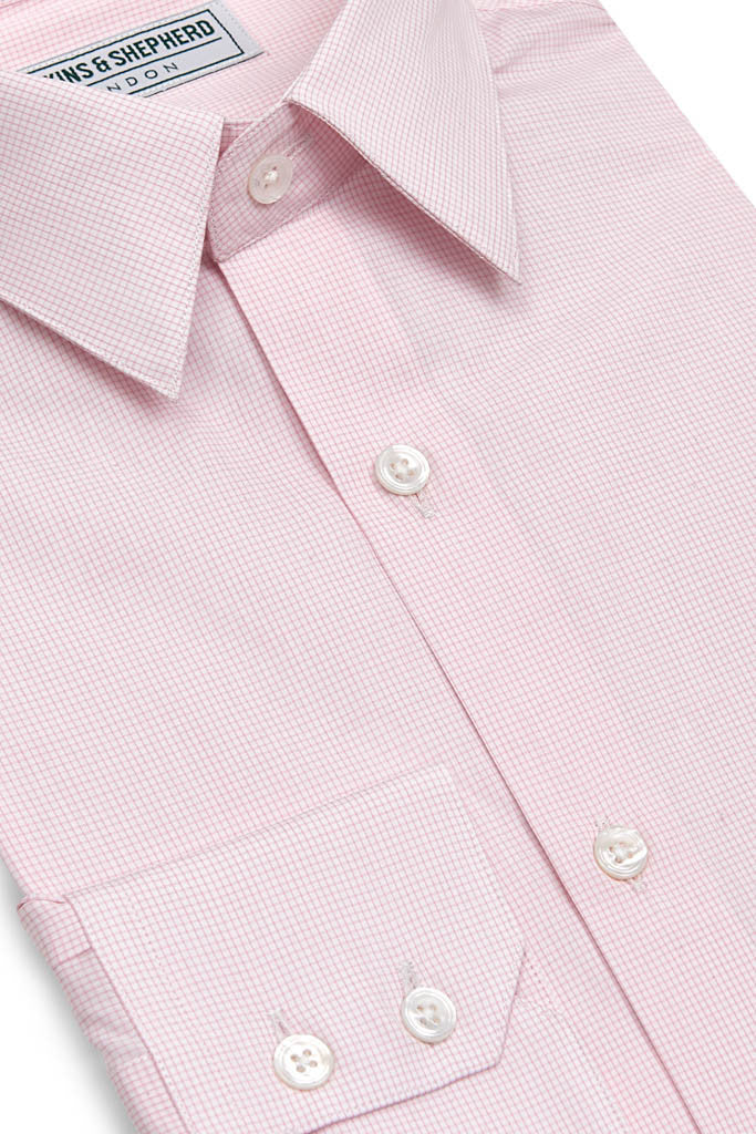 Mens Formal Pink Shirt