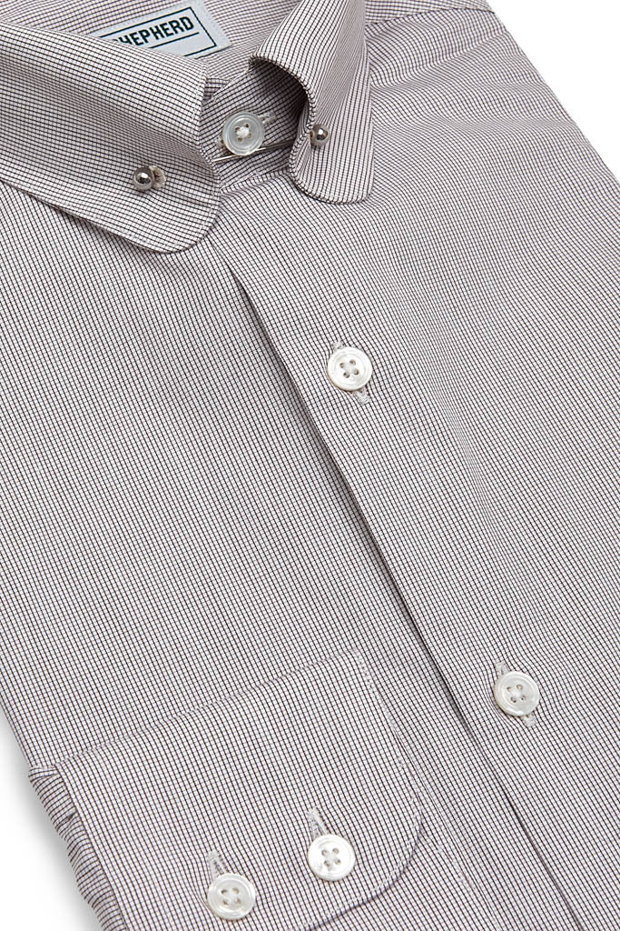 Mens Shirt with Collar Bar