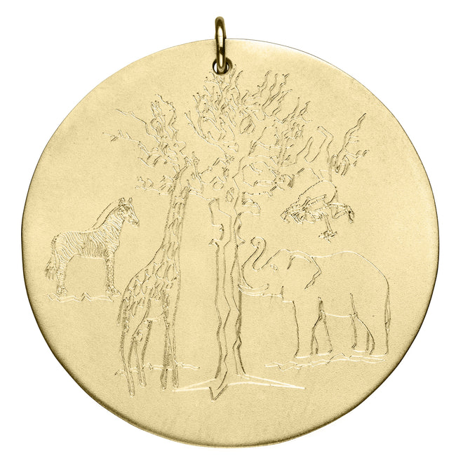 Engraved Animal Kingdom Disc
