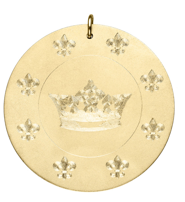 Engraved Crown Disc