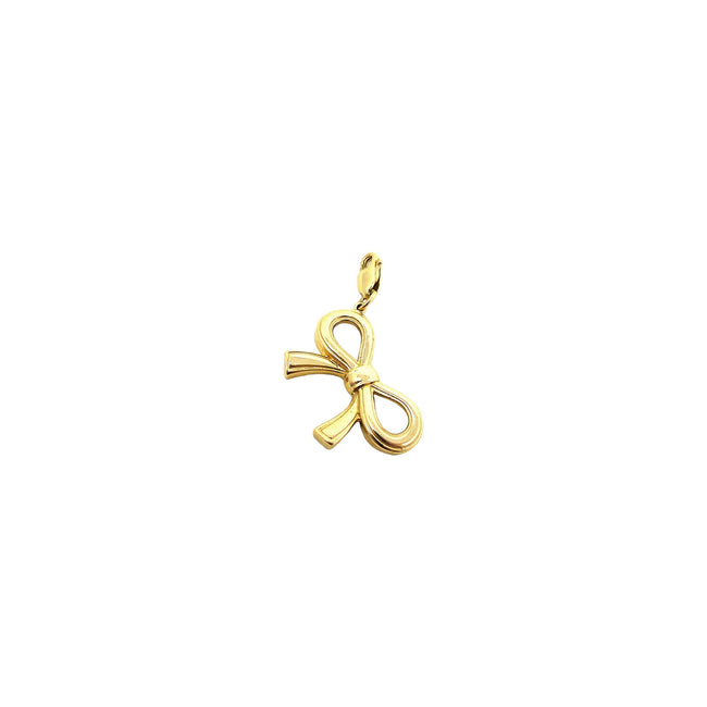 Gold Bow Charm
