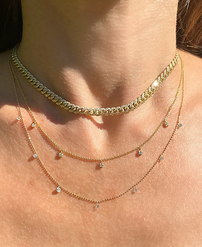 Diamond Link Choker