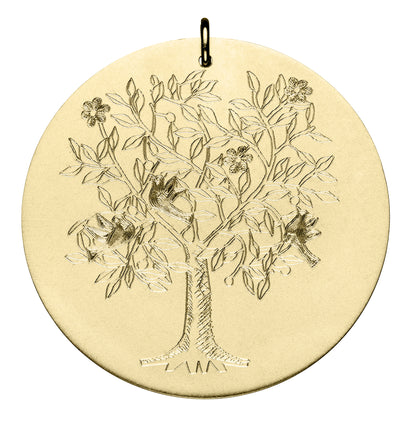 Engraved Tree of Life Disc