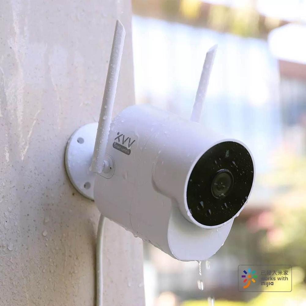 Newest Xiaovv Outdoor 150° Wide Angle Camera Surveillance Camera Wireless WIFI High-definition Night vision Work With MiHome app