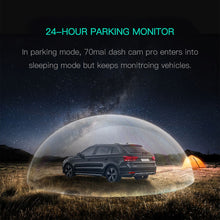 Load image into Gallery viewer, English version 70mai Dash Cam Pro 1944P speed and GPS coordinates Cam Voice Control Parking Monitor Night Vision Wifi 70 Mai Car DVR Pro