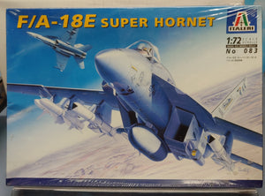 Italeri 1/72 F/A-18E Super Hornet Aircraft Kit- Sealed - Baron von Plastic