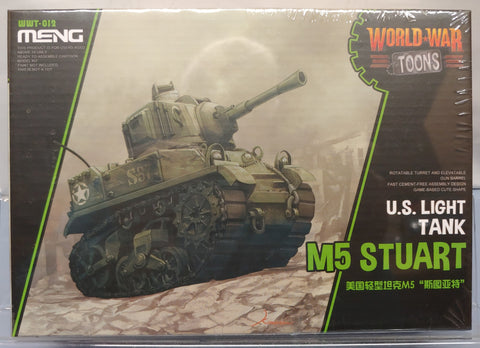 Meng Models World War Toons Stuart Tank Kit