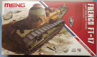 Meng 1/35 WWI French Light Tank FT-17 (Cast Turret)