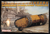 Dragon 1/35 WW2 German Engineers w/ Goliath Demolition Vehicles - Baron von Plastic