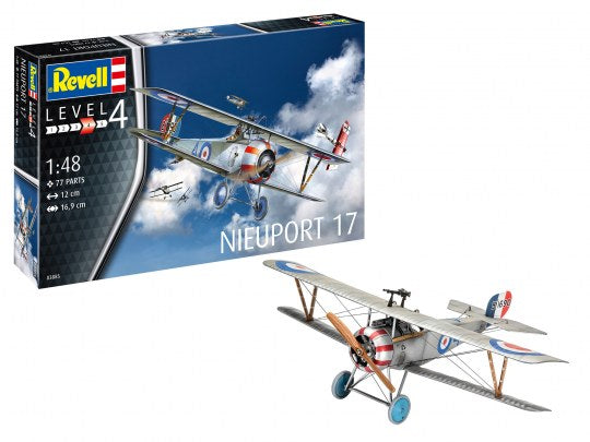 Revell Germany 1/48 WW1 Nieuport 17 Kit