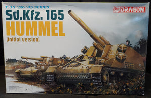 Dragon 1/35 Kit #6150 WW2 German Sd.Kfz.165 Hummel (Initial Version) - Baron von Plastic