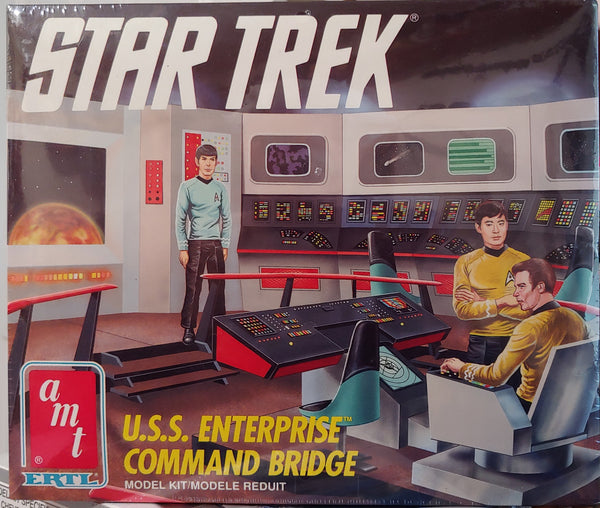 AMT 1/24 Scale Kit # 6007 Star Trek U.S.S. Enterprise Command Bridge -Sealed - Baron von Plastic