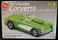 AMT/Ertl 1/25 Kit #8213 1957 Chevrolet Corvette Street Machine Sealed - Baron von Plastic