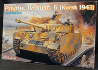 Dragon 1/35 Kit #9020 WW2 German PzKpfw. IV Ausf G  Kursk 1943 - Baron von Plastic