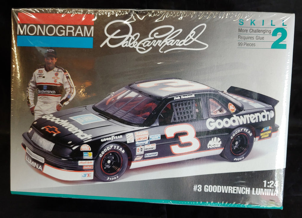 Monogram 1/24 Kit #2927 Dale Earnhardt's #3 Goodwrench Lumina  -Sealed - Baron von Plastic