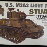 AFV Club 1/35 Kit #35053 US M3A3 Light Tank Stuart - Builder's Special - Baron von Plastic