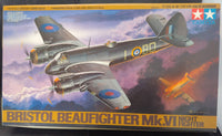 Tamiya 1/48 Kit #61064 Bristol Beaufighter Mk.VI Night Fighter- w/Extras - Baron von Plastic