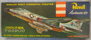 "Revell ""S "" Kit H-231-89 McDonnell F-101A Voodoo Box Only - Baron von Plastic"