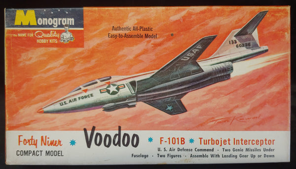 "1st Issue 1960 Monogram 4 Star ""Forty Niner "" Series F-101B Voodoo Kit - Baron von Plastic"
