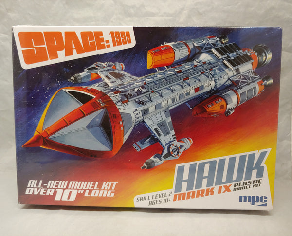 MPC Space 1999 Hawk Mk IX 1/72 Scale Kit -New in Box - Baron von Plastic