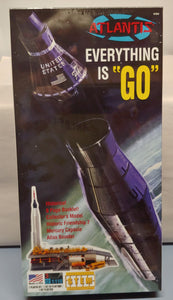 Atlantis Atlas Rocket W/ Mercury Capsule & Launch Pad  1/110 Scale Kit NIB