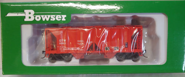 Bowser HO RTR #42222 70 Ton Covered Hopper Grand Trunk Western #85412