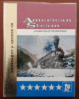 American Steam, Vol. 2: Locomotives of the Northeast - Hardcover - Baron von Plastic