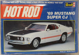 Revell 1/25 Kit # 7121 Hot Rod Series '69 Mustang Super CJ - Sealed