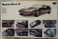 Testors 1/24 Maserati Merak SS Kit- Factory Sealed