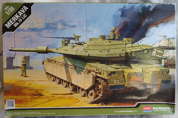 Academy 1/35 Kit #13227 Merkava Mk.IV LIC Main Battle Tank