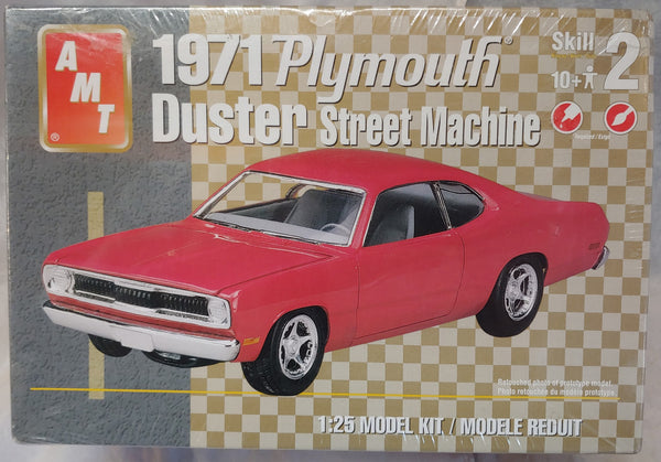 AMT 1/25 Kit 3 31634 1971 Plymouth Duster Street Machine - Sealed