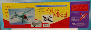 "Dumas Flying Model Kit #310 WW2 PZL P11C Fighter 30"" Wingspan - Baron von Plastic"