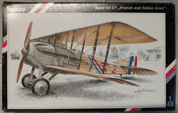 "Special Hobby 1/48 WWI SPAD VII C1 ""French & Italian Aces"""