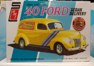 AMT 1/25 Gene Winfield's '40 Ford Sedan Delivery 2 in 1 Kit- NIB - Baron von Plastic