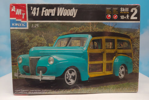 AMT 1/25 Kit - '41 Ford Woody Sealed box