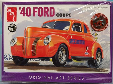 AMT 1/25 '40 Ford Coupe Original Art Series 3 in 1 Kit