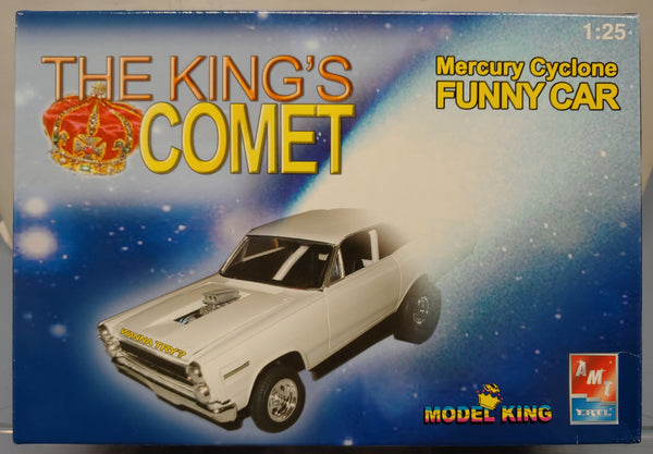 AMT Model King 1/25  Kit 21466 'The King's Comet'  Mercury Cyclone Dragster