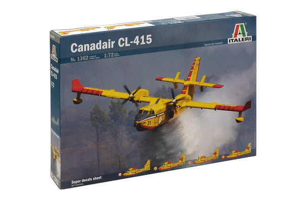 Italeri 1/72 Kit #1362 Canadair CL-415 Firefighting Plane NISB