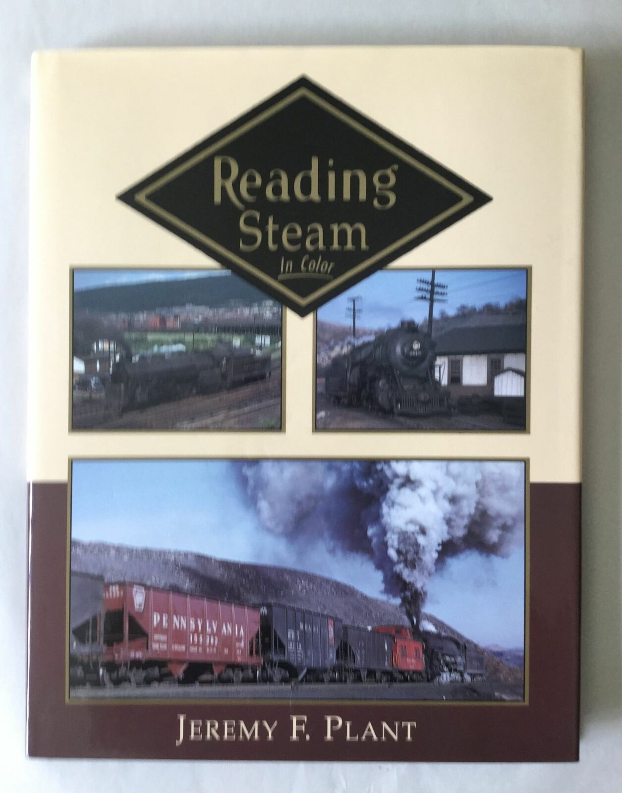 Morning Sun Books: Reading Steam in Color Hardcover – 1996