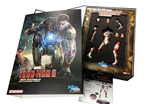 Dragon 1/9 Marvel Iron Man 3 Mark XLII Battle Damaged Version- Big Discount! - Baron von Plastic