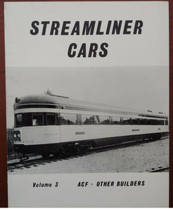 Streamliner Cars, Vol. 3: ACF - Other Builders Paperback – 1982 - Baron von Plastic