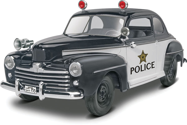 Revell 1/25 Kit #85-4318 '48 Ford Police Coupe 2 'n 1 - Baron von Plastic
